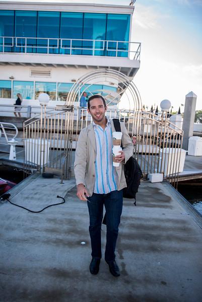 "Asolo Rep, the ""Showboat"" cast on Marina Jack II"